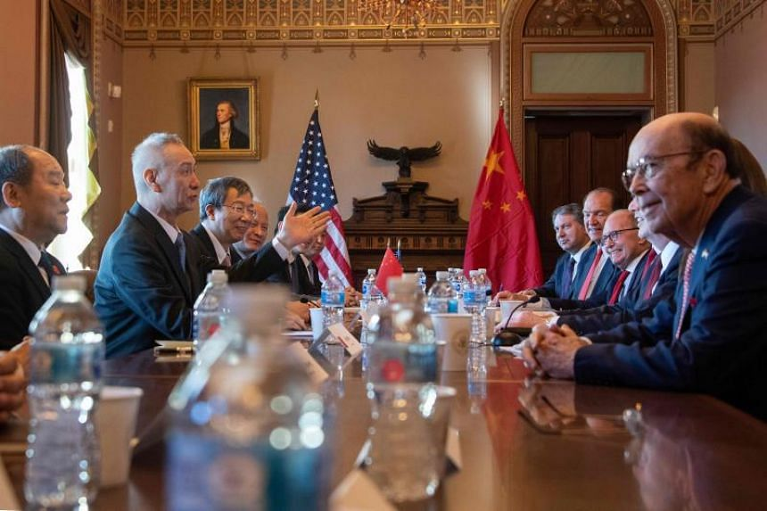 Top Chinese and US officials met on Jan 30, 2019, in Washington to negotiate a resolution on a dispute threatening to plunge the world's two largest economies into a deepening trade war.