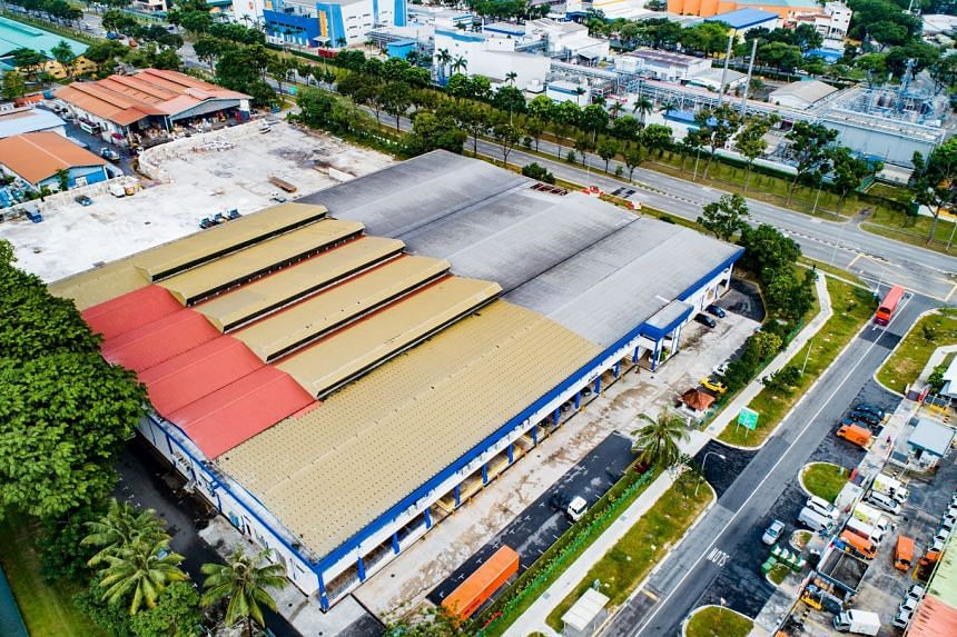 """The property at the corner of Jalan Boon Lay and Enterprise Road, is located within the JTC """"Chin Bee"""" Food Zone surrounded by other key food suppliers and manufacturers such as Neo Garden, Khong Guan, GSK, Unilever, Olam and Meiji."""