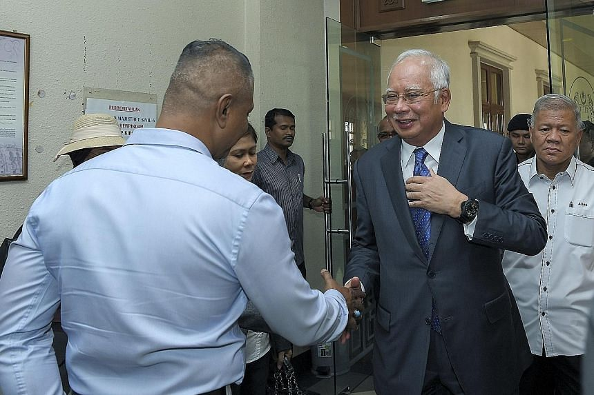 Malaysia's former prime minister Najib Razak has pleaded not guilty to 10 charges of criminal breach of trust, money laundering and abuse of power.