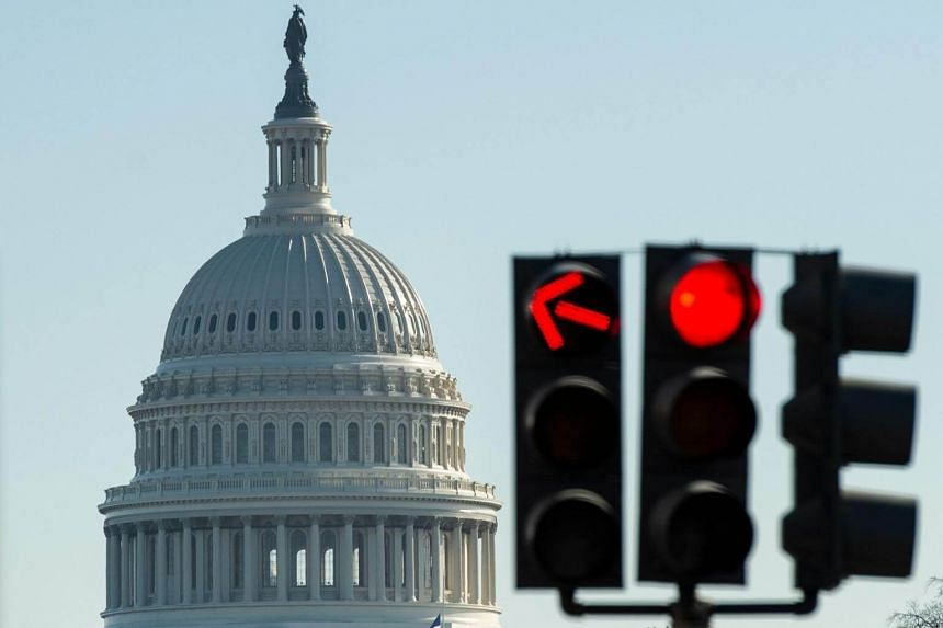 The US Capitol during a government shutdown in Washington DC on Dec 27 2018