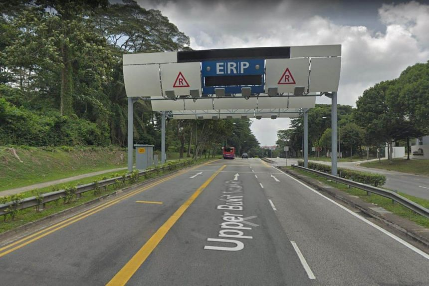 The ERP rate for Upper Bukit Timah Road, which is $1 from 8am to 8.30am, will be removed.