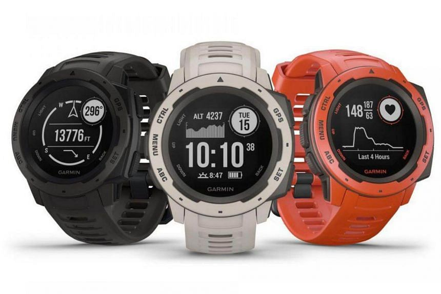 The Garmin Instinct is a good choice for those wanting a rugged fitness watch to work out with.
