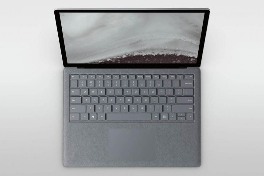 The biggest upgrade in the Surface Laptop 2 is under the hood, using Intel's latest eighth-generation processor, with double the number of processor cores in its latest chips.