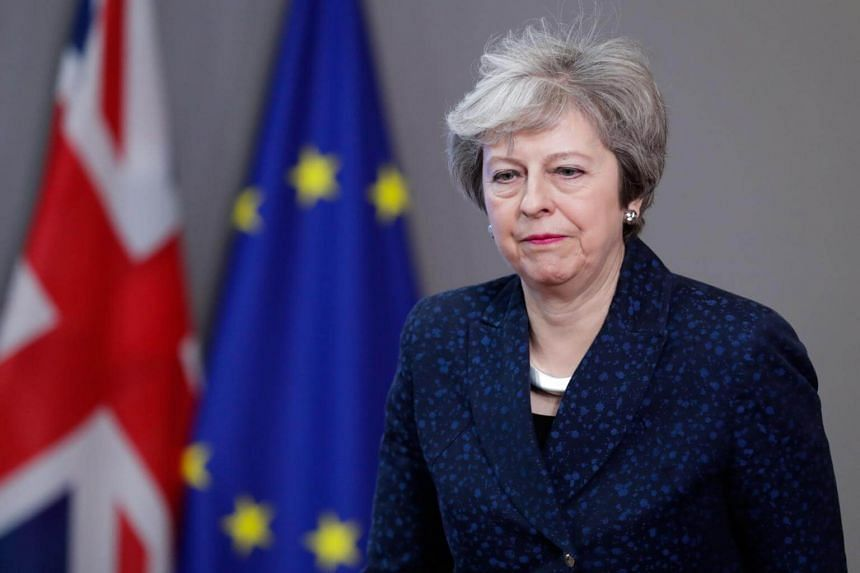 In January, British lawmakers rejected Theresa May's original Brexit deal that set out the terms by which Britain would leave the European Union.