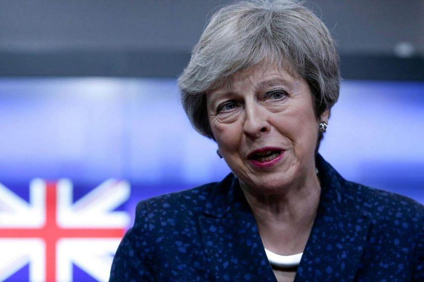 British Prime Minister Theresa May will make a statement in the House of Commons on Feb 12, 2019.