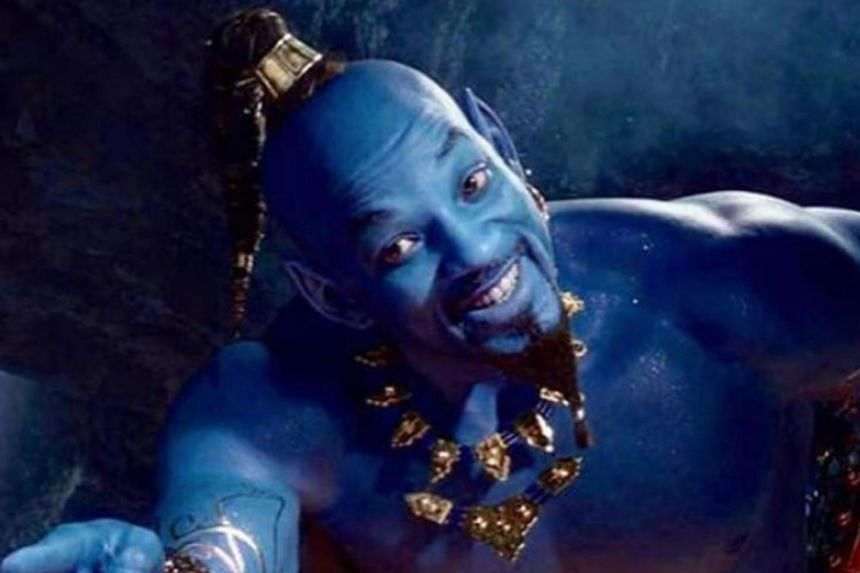 Netizens quickly vented their unhappiness over the trailer that had Aladdin approaching the Cave of Wonders in search of the lamp and revealing Will Smith in CGI form as a blue Genie.