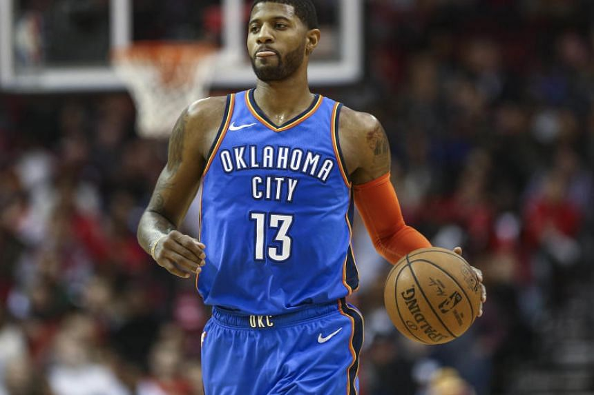 It was Oklahoma City Thunder forward Paul George's third career triple-double and his first since 2014.
