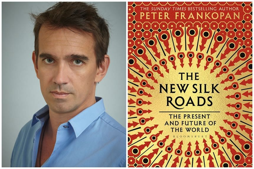 Peter Frankopan (left) has an eye for vivid detail and it shows in The New Silk Roads: The Present And Future Of The World (right).