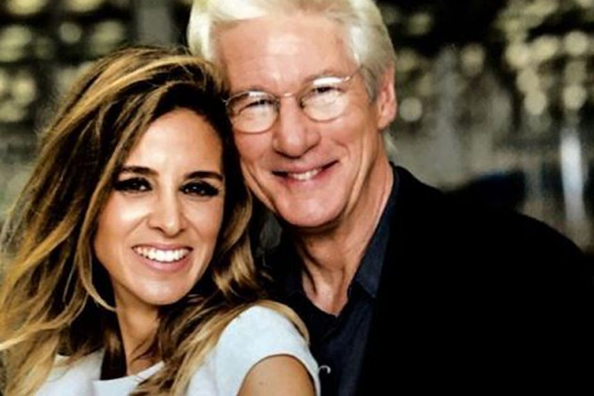 Actor Richard Gere and his wife Alejandra Silva welcomed a boy a few days ago.