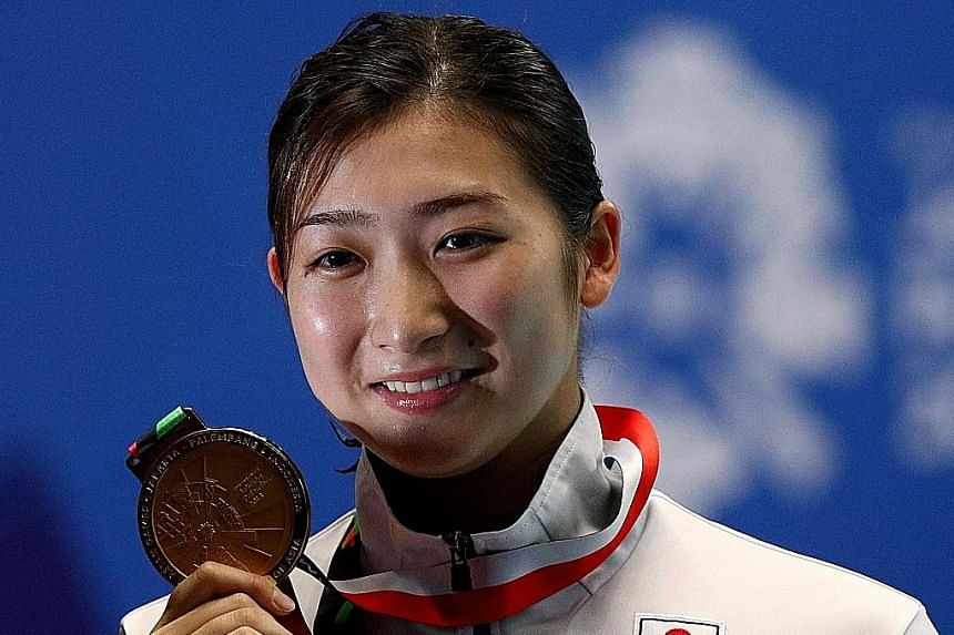 Rikako Ikee is Japan's poster girl for next year's Tokyo Olympics.