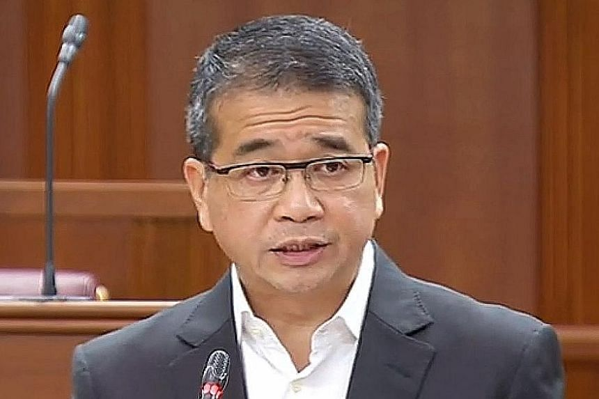 Senior Minister of State For Law Edwin Tong.