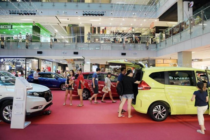 Car sales took the biggest hit, tumbling 20.7 per cent year on year.