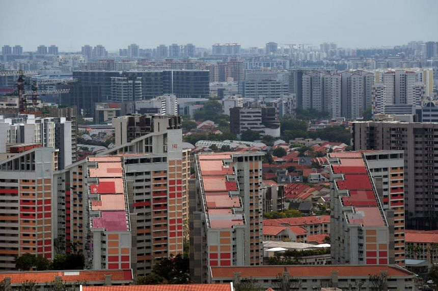 Minister for National Development Lawrence Wong said that land for public housing has a lower valuation compared with land zoned for private housing.