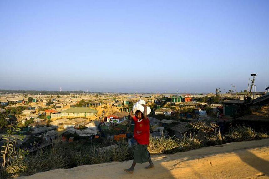 More than 700,000 Rohingya Muslims fled a sweeping army crackdown in Myanmar's Rakhine state in 2017.