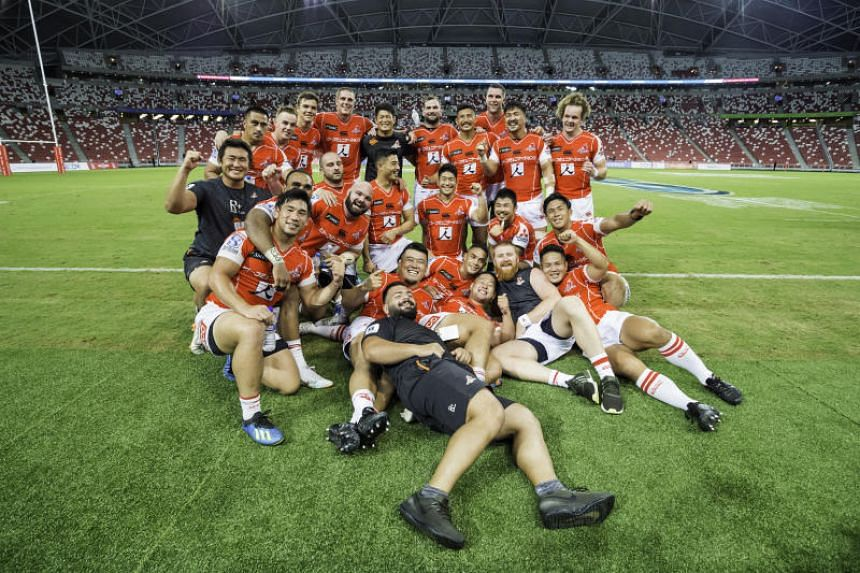 The Tokyo-based team, who also play some matches in Singapore, are entering their fourth season in Super Rugby having won only six of their previous 46 matches.