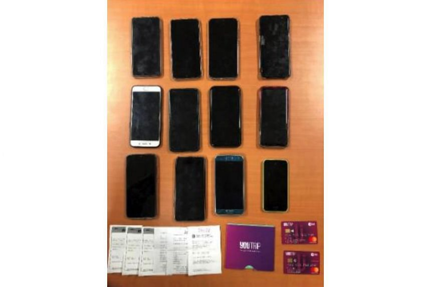 Over $96,000 in credit card transactions found after 4 arrested for
