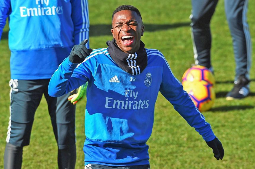Real Madrid's 18-year-old Brazilian striker Vinicius Junior is the poster boy of coach Santiago Solari's meritocracy, an approach that puts reputation far below humility and hard work.