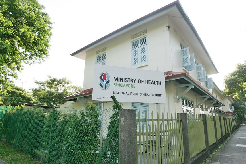 Above: The National Public Health Unit, which was headed by Ler Teck Siang when MOH received a complaint about him from his boyfriend.