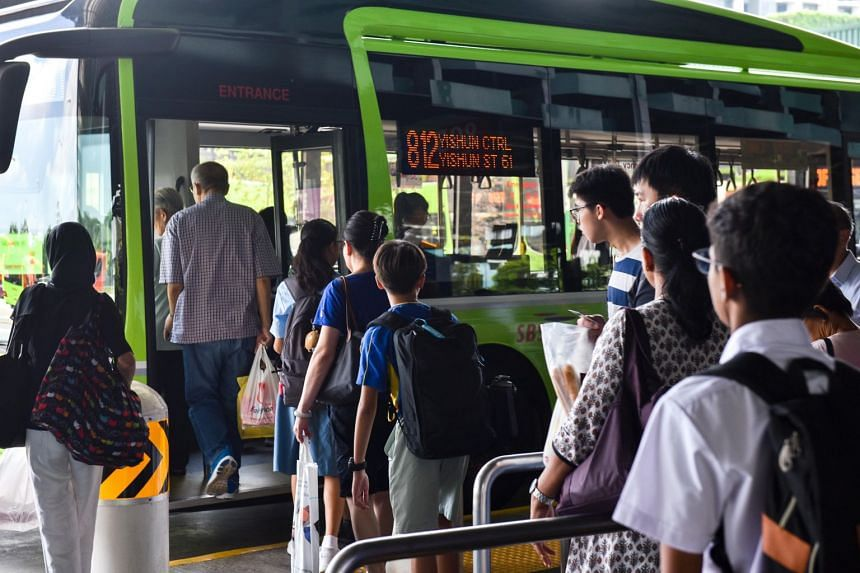 Bus ridership in Singapore rose by 2.2 per cent to hit the four million mark for the first time in 2018, according to figures released by the Land Transport Authority.