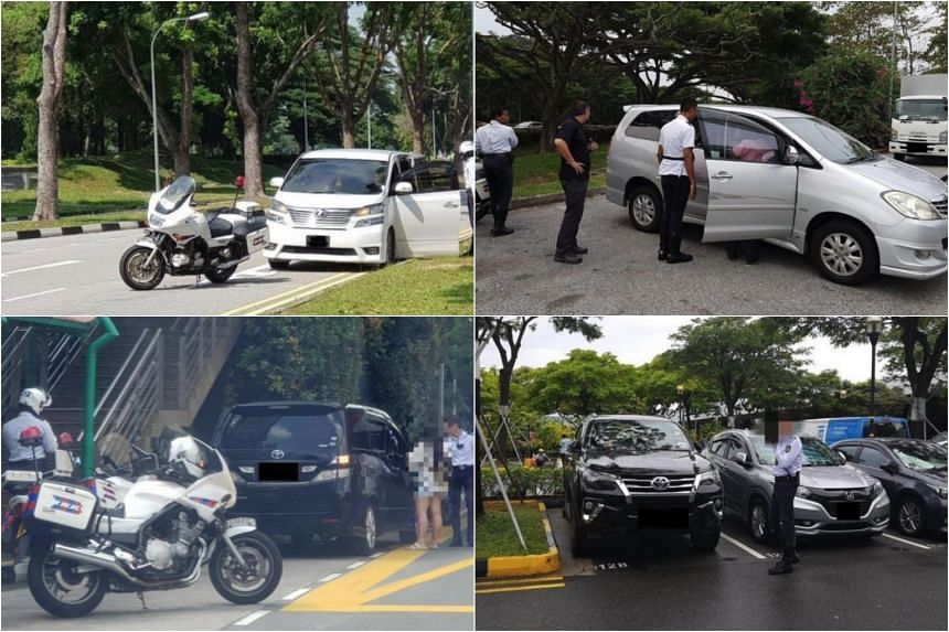 The Land Transport Authority conducted enforcement operations at visitor hot spots such as Changi Airport and East Coast Seafood Centre in 2018.