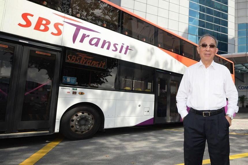 """SBS chairman Lim Jit Poh said: """"SBS Transit is a local company, we don't need to go on a global search."""""""