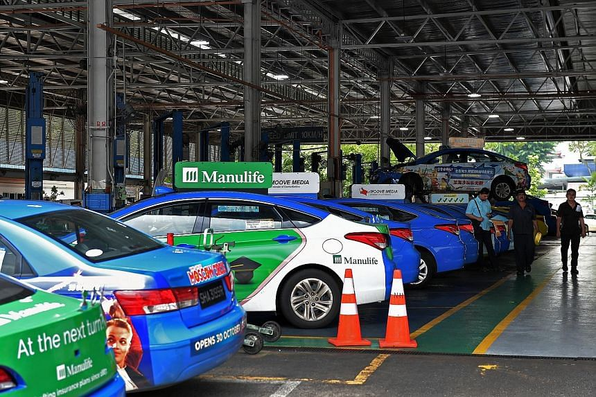ComfortDelGro's local taxi fleet shrank by 6.7 per cent to 12,360 as at end-December. At the operating level, its taxi business (including overseas) posted a 3.4 per cent drop in profit to $129.4 million. Its chief executive Yang Ban Seng said the dr