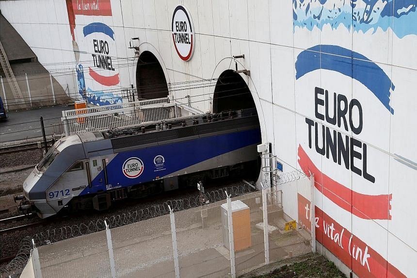 Channel Tunnel operator Eurotunnel said last month it was taking steps to ensure that there would be a minimal impact from any no-deal Brexit.