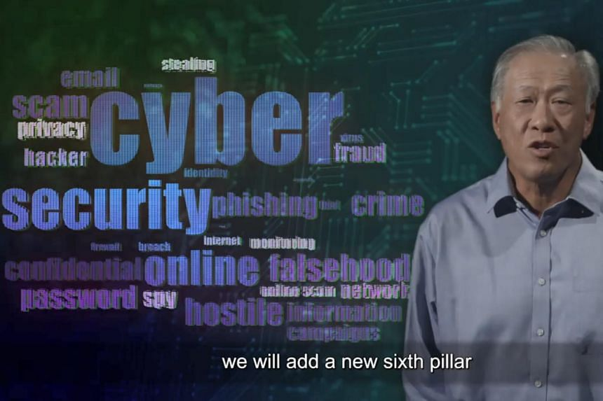 In his annual Total Defence Day message, Defence Minister Ng Eng Hen stressed that cyber-security threats and disinformation are a serious danger to Singapore, and emphasised the need to be vigilant against them.