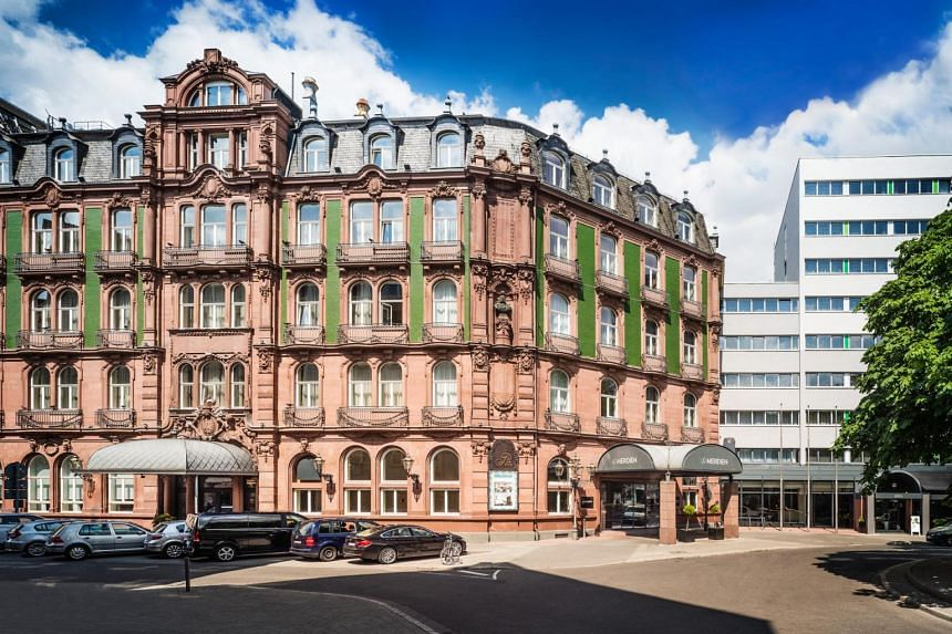 The Le Méridien Frankfurt hotel acquired by First Sponsor Group in January 2018.