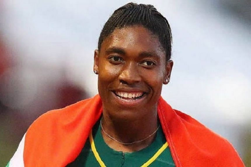 Caster Semenya in a photo from the athlete's Instagram account.