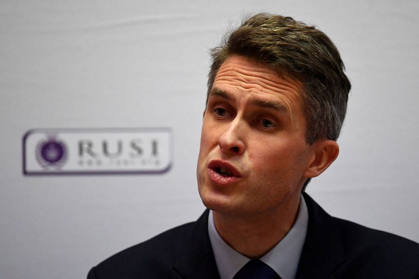 The trade talks were cancelled in protest at Defence Secretary Gavin Williamson's speech, where he threatened to deploy a warship in the Pacific.