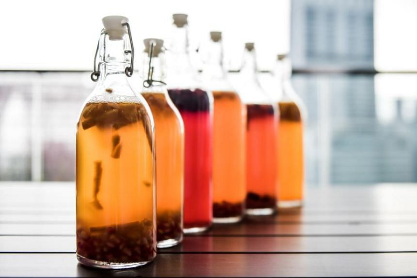 Kombucha is long-fermented to bring out beneficial bacteria, yeasts and enzymes, and is known to improve digestion, boost immunity and cleanse the liver.