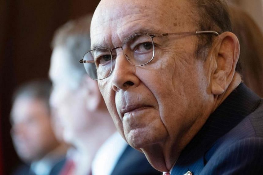 US Secretary of Commerce Wilbur Ross addressed a US-India CEO Forum by video after his flight was cancelled.