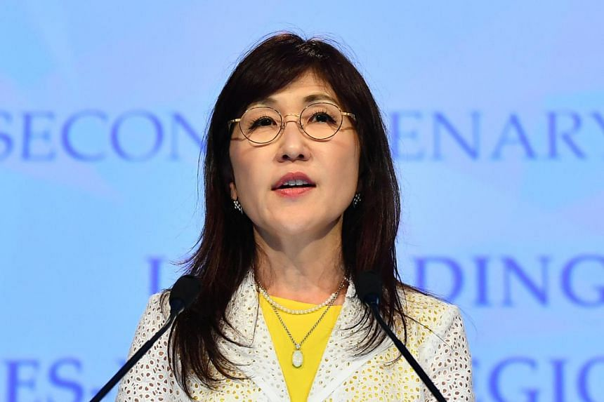 Tomomi Inada said she's unsure she'll be able to introduce new legislation seeking greater tolerance of same-sex relationships amid opposition from her Liberal Democratic Party colleagues.