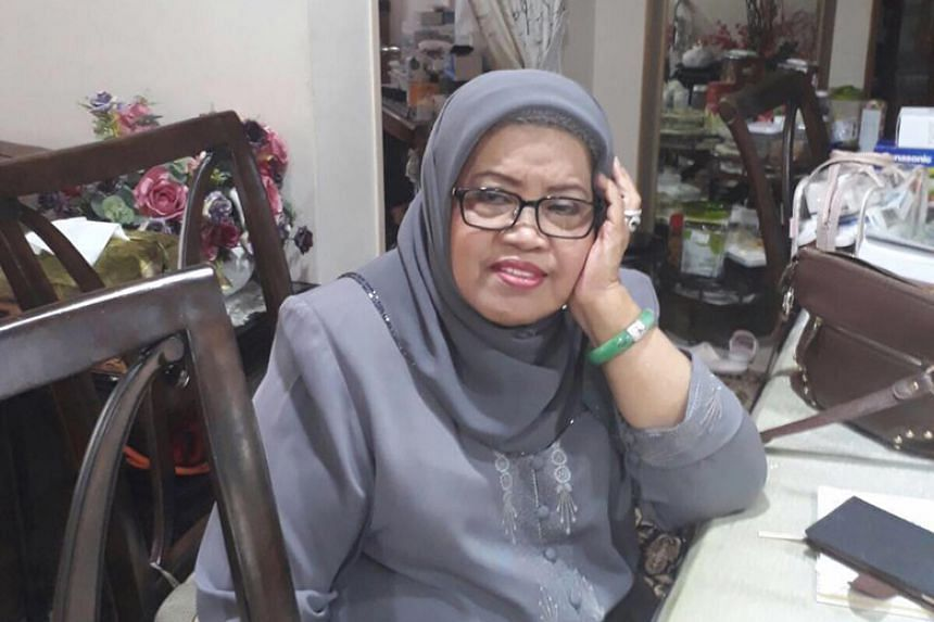 According to a family member, Asmah Laili had collapsed at her Bedok home and was rushed to Changi General Hospital, where she later died.