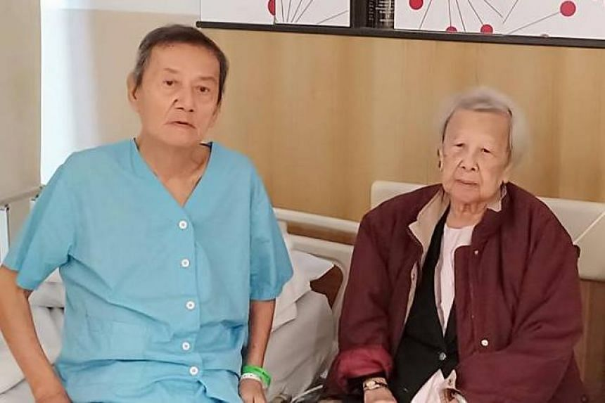 Mr Phua Gee Moh and Madam Han Fong Tin lived apart for more than 10 years after their wedding. Later, he cared for her when she was diagnosed with dementia and the caregiving role was reversed when he had leukaemia.