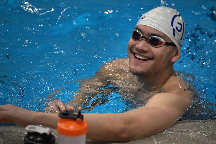 Now weighing 75kg, Joseph Schooling believes an additional 2-3kg to his 1.84m frame before July's World Championships will be his optimum shape.