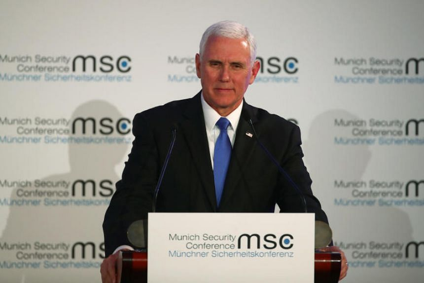 Image result for pence in munich