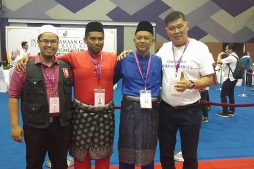 The four candidates are: (from left) Nik Aziz Afiq Abdul, Muhammad Aiman Zainali, Zakaria Hanafi and Kuan Chee Heng.