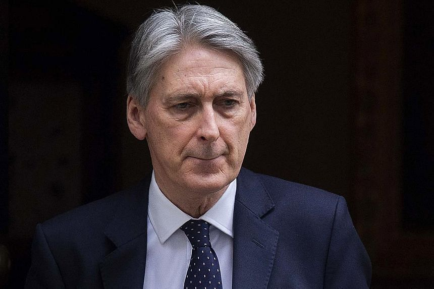 Mr Hammond's trip was cancelled after Beijing reacted angrily to news that Britain planned to send a warship to the Pacific region.