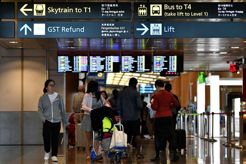 Changi Airport now has all four official languages and Japanese on its signs at Terminal 2 and Terminal 4, which opened in 2017. But most signs at Terminals 1 and 3 still do not come with Tamil.