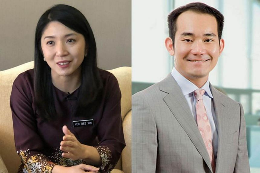 News of Energy, Technology, Science, Climate Change and Environment Minister Yeo Bee Yin (left) being in a relationship with property developer Lee Yeow Seng (right) broke after one of her friends uploaded a picture of himself, posing with the couple