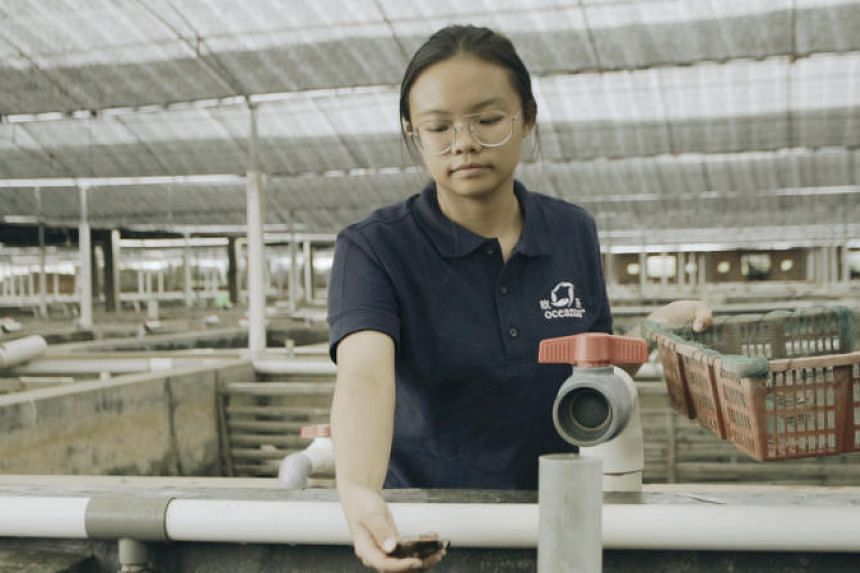 Ms Bernice Chan, 21, a management trainee with Oceanus group, is a former intern who benefited from the experience and overseas exposure with the company.