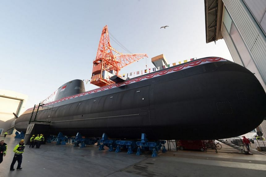 The new Type 218SG submarine will have 50 per cent longer endurance, more firepower, more capable sensors and advanced automation than the current fleet of submarines in the Republic of Singapore Navy.