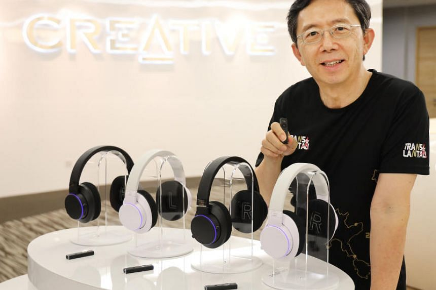 Mr Sim Wong Hoo, chief executive and chairman of Creative Technology, was lauded by Finance Minister Heng Swee Keat in the Budget speech on Feb 18, 2019.
