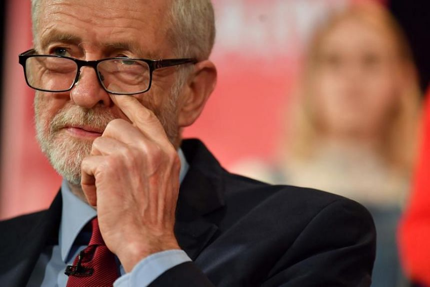 Opposition leader Jeremy Corbyn has also been accused by some lawmakers of failing to tackle anti-Semitism in the party.