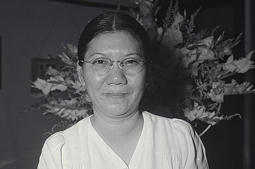 Madam Zahrah Za'ba was a prolific producer of radio plays. BG Gan Siow Huang is SAF's highest-ranking female officer. Author Tham Yew Chin received the Cultural Medallion in 2009. Madam Liew Yuen Sien headed Nanyang Girls' School. Glory Barnabas won