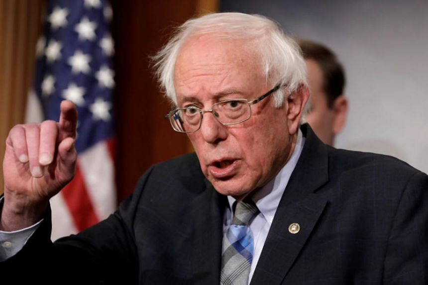 US Senator Bernie Sanders had finished runner-up to Hillary Clinton for the 2016 Democratic presidential nomination.