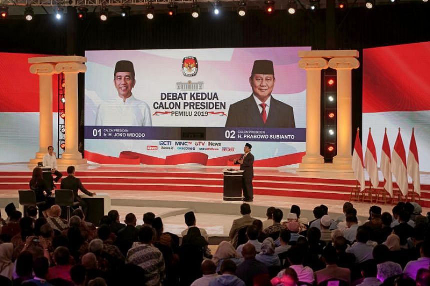 Indonesia President Joko Widodo And Presidential Candidate Prabowo Subianto Attend Second Debate.