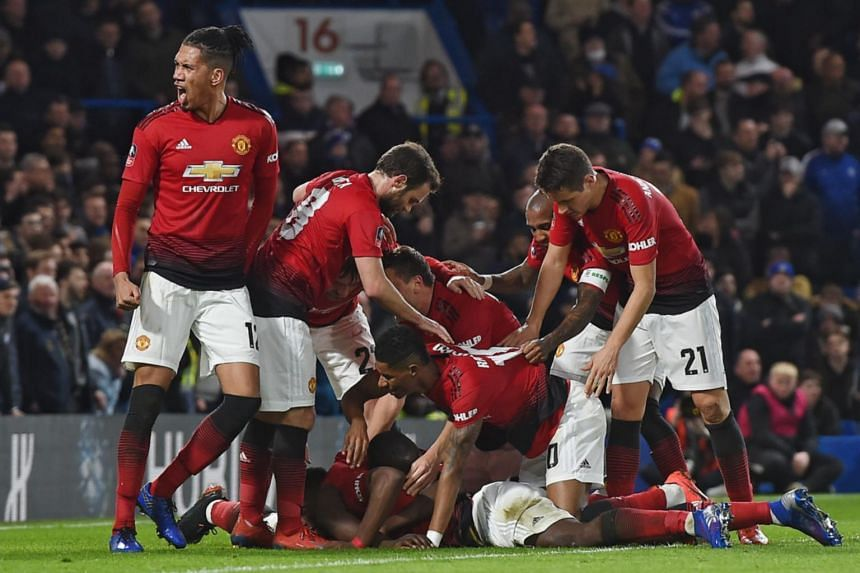 Football United Dump Holders Chelsea Out Of Cup To Pile
